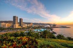 Santa Cruz cityscape view Stock Image