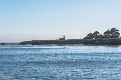 Santa Cruz coast, California Royalty Free Stock Photos