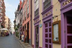 Santa Cruz de Ла Palma, Ла Palma, Канарские острова, Испания Стоковая Фотография