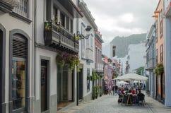 Santa Cruz de Ла Palma, Ла Palma, Канарские острова, Испания Стоковое фото RF