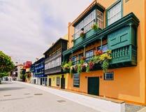 Santa Cruz de La Palma Fotografering för Bildbyråer