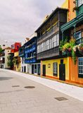 Santa Cruz de La Palma Royalty Free Stock Photography