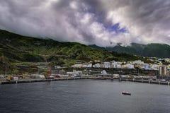 Santa Cruz DE La Palma stock afbeeldingen