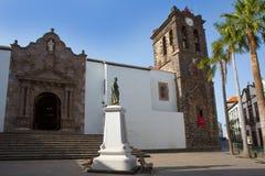 Santa Cruz de La Palma Plaza de Espana Fotos de archivo libres de regalías