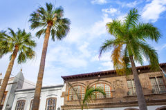 Santa Cruz de La Palma Plaza Espana town hall Stock Photos