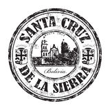 Santa Cruz de la Sierra rubber stämpel Arkivfoto