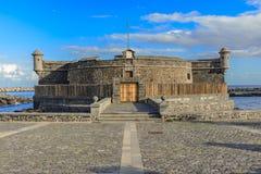Santa Cruz de Tenerife, Κανάρια νησιά, Ισπανία: Castillo de San Juan Bautista Στοκ φωτογραφία με δικαίωμα ελεύθερης χρήσης