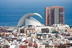 Santa Cruz de Tenerife Immagini Stock Libere da Diritti