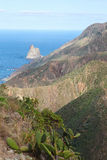 Santa Cruz de Tenerife Foto de Stock Royalty Free