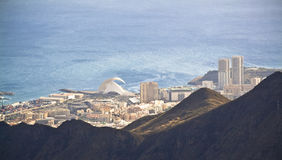 Santa cruz De Tenerife Obraz Stock