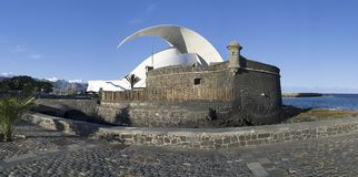 Santa Cruz de Tenerife. Canary Islands, Spain Royalty Free Stock Images