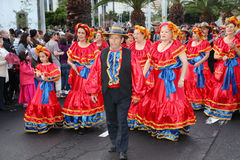 Santa Cruz de Tenerife Carnival Royalty Free Stock Photos