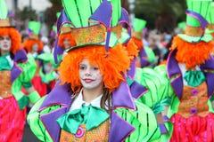 Santa Cruz de Tenerife Carnival Royalty Free Stock Photo