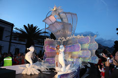Santa Cruz de Tenerife Carnival Stock Photo