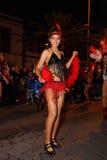 Santa Cruz de Tenerife Carnival Royalty Free Stock Image