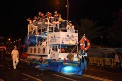 Santa Cruz de Tenerife Carnival Stock Photography