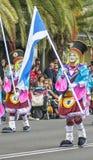 Santa Cruz de Tenerife Carnival 2014 Fotografia Stock Libera da Diritti