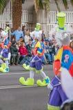 Santa Cruz de Tenerife Carnival 2014 Fotografie Stock