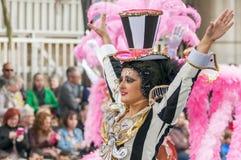 Santa Cruz de Tenerife Carnival 2014 Immagine Stock Libera da Diritti