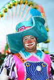 Santa Cruz de Tenerife Carnival: Clown Royalty Free Stock Photo