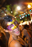 Santa Cruz de Tenerife Carnival: Party Royalty Free Stock Photography