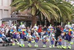Santa Cruz de Tenerife Carnival 2014 Stock Photography