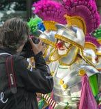 Santa Cruz de Tenerife Carnival 2014 Royalty Free Stock Photography