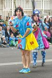 Santa Cruz de Tenerife Carnival 2014 Stock Images