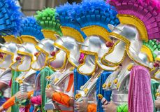 Santa Cruz de Tenerife Carnival 2014 Stock Photo