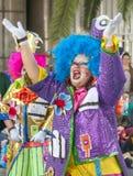 Santa Cruz de Tenerife Carnival 2014 Royalty Free Stock Photos