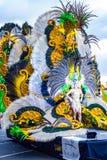Santa Cruz de Tenerife, España, islas Canarias: 13 de febrero de 2018: Coso Apoteosis en Carnaval Fotos de archivo libres de regalías