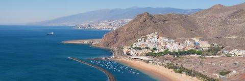 Santa Cruz de Tenerife et San Andres photos libres de droits