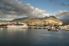 Santa Cruz de Tenerife Harbour Fotografia Stock