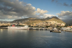 Santa Cruz de Tenerife Harbour Stock Photography