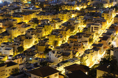 Santa Cruz de Tenerife at night Stock Image