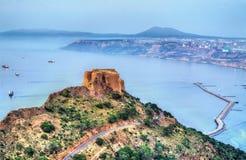Santa Cruz forte in Orano, Algeria fotografia stock libera da diritti