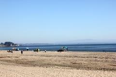 Santa Cruz Harbor Beach, Kalifornien, USA lizenzfreies stockbild
