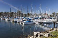 Santa Cruz Harbor, California, USA Royalty Free Stock Photography