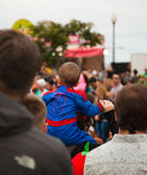 SANTA CRUZ, HISZPANIA karnawałowa parada Zdjęcie Royalty Free
