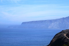 Santa cruz island Royalty Free Stock Photo