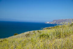 Santa Cruz Island Stock Photo