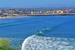 Santa Cruz Kalifornien, Amerikas förenta stater, USA Arkivbild