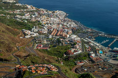 Santa Cruz on La Palma, Canary Islands Stock Photography