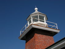Santa Cruz Lighthouse. Santa Cruz, California stock image