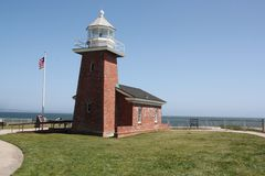 Santa cruz lighthouse Stock Photography