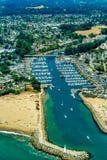 Santa Cruz Marina royaltyfria foton