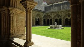 Santa Cruz Monastery stock video
