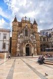 The Santa Cruz Monastery in Coimbra, Portugal Royalty Free Stock Photos
