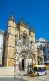 Santa Cruz Monastery em Coimbra portugal Imagem de Stock