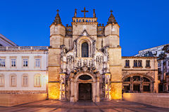 The Santa Cruz Monastery Royalty Free Stock Photography